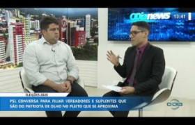 O DIA NEWS 07 01 2020  Luís André (Vereador - PSL) - Eleições 2020