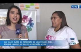 O DIA NEWS 09 01 2020  CVV inicia curso de formação de voluntários