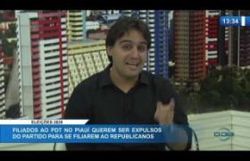 O DIA NEWS 09 01 2020  Flávio Nogueira Júnior (Dep. Est. PDT) - Eleições 2020