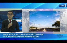 O DIA NEWS 14 01 2020  Ponte Wall Ferraz parcialmente interditada por dez dias