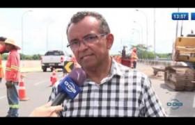O DIA NEWS 15 01 2020  Interditada a pista nova da ponte Wall Ferraz por dez dias