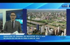 O DIA NEWS 15 01 2020  Prefeitura vai reajustar IPTU e taxa de coleta de lixo