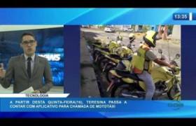 O DIA NEWS 15 01 2020  Teresina passa a contar com aplicativo para chamada de mototaxi