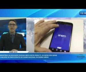 TV O Dia - O DIA NEWS 16 01 2020 Ministério da Educação divulga nesta sexta 17 as notas do ENEM 2019