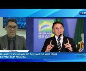 TV O Dia - O DIA NEWS 20 01 2020 Bolsonaro diz que Piauí é o mais pobre do país e gera polêmica