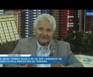 TV O Dia - O DIA NEWS 21 01 2020  Elmano Férrer (Senador do Podemos-PI) - Eleições 2020