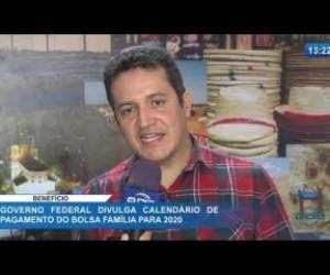 TV O Dia - O DIA NEWS 21 01 2020  Governo Federal divulga calendário de pagamento do Bolsa Família