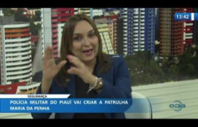 O DIA NEWS 22 01 2020  Flora Izabel (Dep. Federal PT-PI) - Patrulha Maria da Penha