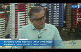 O DIA NEWS 23 01 2020  Flávio Nogueira (Deputado Federal) - Literatura