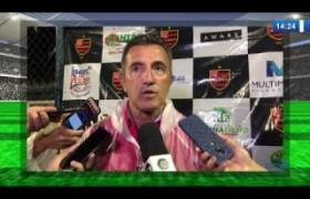 O DIA NEWS 24 01 2020  Treinadores de Altos e Flamengo falam sobre a partida