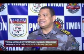 ROTA DO DIA 02 01 2020  100kg de maconha apreendidos e 3 pessoas presas em Timon