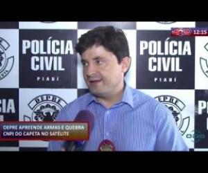 TV O Dia - ROTA DO DIA 17 01 2020 DEPRE APREENDE ARMAS E DROGAS EM RESIDÊNCIA NO SATÉLITE