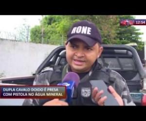 TV O Dia - ROTA DO DIA 20 01 2020 Dupla é presa com pistola no Água Mineral