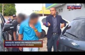 ROTA DO DIA 23 01 2020  Homens são presos enquanto davam rolê em moto roubada