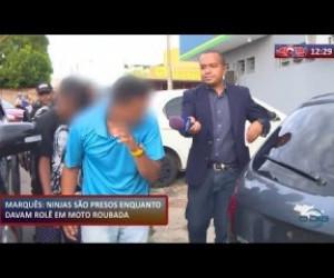 TV O Dia - ROTA DO DIA 23 01 2020  Homens são presos enquanto davam rolê em moto roubada