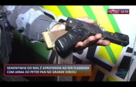 ROTA DO DIA 23 01 2020  Menor apreendido com arma de fabricação caseira no grande Dirceu