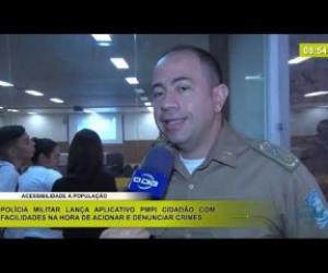 TV O Dia - BOM DIA NEWS 17 02 20 PM lança aplicativo PMPI Cidadão