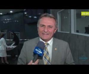 TV O Dia - BOM DIA NEWS 19 02 20 Luiz Lobão, Vereador de Teresina, avalia expulsão do MDB