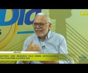 TV O Dia - BOM DIA NEWS 21 02 20 Antônio J. Medeiros(Pré-cand. Prefeito - União) - Articulações poli�