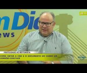 TV O Dia - BOM DIA NEWS 21 02 20 Arão Lobão (Dir. Detran-PI) - Praticidade ao motorista