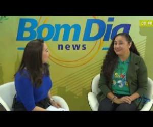 TV O Dia - BOM DIA NEWS 21 02 20 Cida Santiago (Vereadora PSD) - Melhorias para refugiados venezuelanos