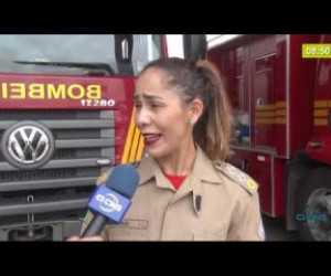 TV O Dia - BOM DIA NEWS 27 02 20  Corpo de Bombeiros alerta para os riscos de afogamento