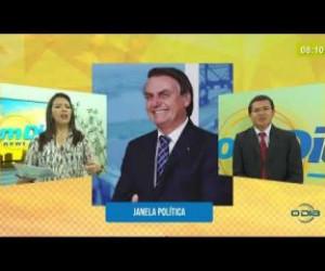 TV O Dia - BOM DIA NEWS 27 02 20 Janela Política