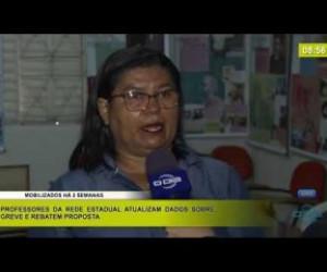 TV O Dia - BOM DIA NEWS 27 02 20 Professores da rede estadual atualizam dados sobre greve e rebatem proposta