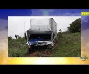 TV O Dia - BOM DIA NEWS 27 02 20 Três pessoas da mesma família morrem em grave acidente na BR 343
