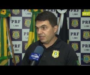 TV O Dia - BOM DIA NEWS 28 02 20 PRF apresenta o balanço da Operação Carnaval 2020