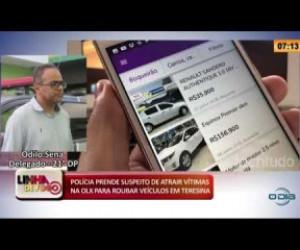 TV O Dia - LINHA DE FOGO 26 02 20  Polícia prende suspeito de atrair vítimas na OLX