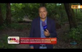 LINHA DE FOGO 26 02 20  População ajuda polícia a recuperar motos roubadas e abandonadas