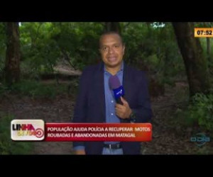 TV O Dia - LINHA DE FOGO 26 02 20  População ajuda polícia a recuperar motos roubadas e abandonadas