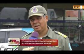 LINHA DE FOGO 27 02 2020 POLÍCIA MILITAR REGISTRA OITO HOMICÍDIOS NO PERÍODO DO CARNAVAL NO PIAU�