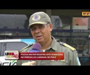TV O Dia - LINHA DE FOGO 27 02 2020 POLÍCIA MILITAR REGISTRA OITO HOMICÍDIOS NO PERÍODO DO CARNAVAL NO PIAU�