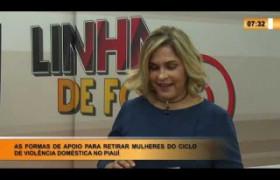 LINHA DE FOGO 31 01 2020 AS FORMAS DE APOIO PARA RETIRAR MULHERES DO CICLO DE VIOLENCIA DOMÉSTICA
