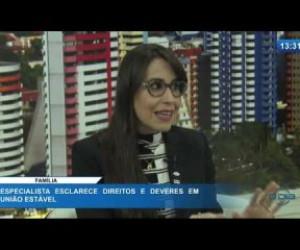 TV O Dia - O DIA NEWS 11 02 20 Karla Oliveira (Pres. Comissão de Famílias e Sucessões OAB-PI) - Famíli
