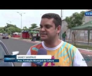 TV O Dia - O Dia News 14 02 2020 Confira a estrutura do Zé Pereira de Timon