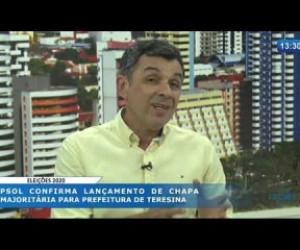 TV O Dia - O DIA NEWS 19 02 20  Paulo H. Pinheiro (militante PSOL) - Lançamento de chapa majoritária