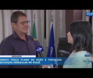 TV O Dia - O DIA NEWS 20 02 20 DNOCS traça plano de ação e fiscaliza situação irregular no Piauí