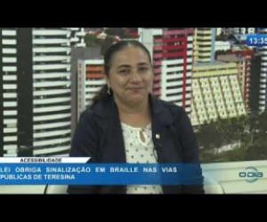 TV O Dia - O DIA NEWS 27 02 20  Cida Santiago (Vereadora PSD) - Acessibilidade