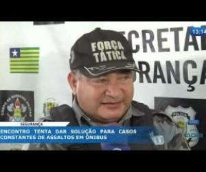 TV O Dia - O DIA NEWS 27 02 20 Encontro tenta dar solução para casos constantes de assaltos em ônibus