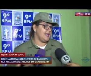 TV O Dia - ROTA DO DIA 28 02 20 Polícia aborda carro com bandidos que realizaram 21 roubos em menos de 24h
