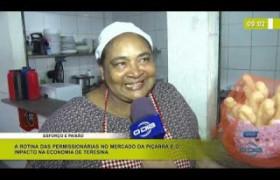 BOM DIA NEWS 06 03 20  A rotina das permissionárias no mercado da Piçarra