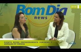 BOM DIA NEWS 06 03 20  Flávia Arrais (Pastora da Igreja Angelim) - Evento
