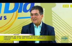BOM DIA NEWS 12 03 20  Francisco Limma (Dep. Est. PT) - Comissões técnicas da ALEPI