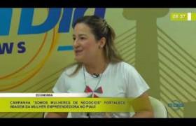 """BOM DIA NEWS 12 03 2020 Entrevista Karla Nery Reis. """"Somos Mulheres de Negócios"""""""