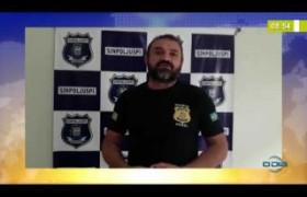 BOM DIA NEWS  25 03 20  SINPOLJUSPI lamenta prisão domiciliar a presos no Piauí