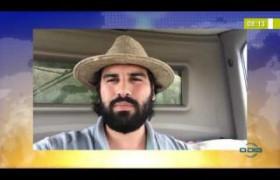 BOM DIA NEWS  26 03 20  Alzir Neto (Pres. Aprosoja) - Trecho da PI 392 destruído após enxurrada