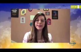 BOM DIA NEWS  26 03 20  Lígia Vasconcelos (farmacêutica) - Automedicação deve ser descartada